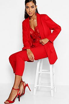 Se  Tailored Blazer ved Boohoo.com