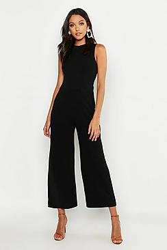 Se  Tall Tailored Jumpsuit ved Boohoo.com