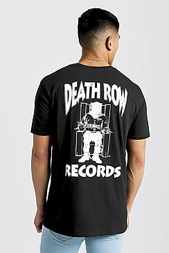 Death Row Records Oversized T-Shirt