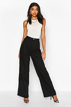 Tall High Rise Wide Leg Jeans