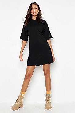Tall Cotton Oversized T Shirt Dress