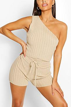 Petite Knitted Short Co-Ord