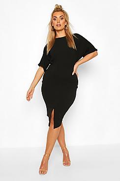 Plus Wiggle Midi Dress