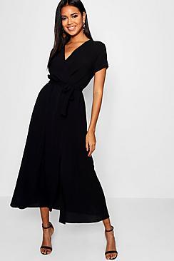 Se  Wrap Maxi Dress ved Boohoo.com