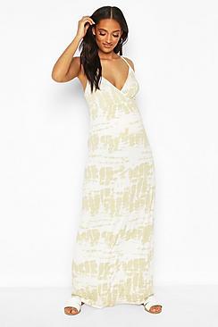 Maternity Tie Dye Maxi Dress