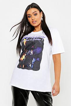 Plus Prince Purple Rain License T-Shirt