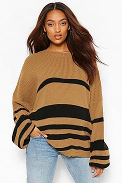Maternity Slouchy Stripe Jumper