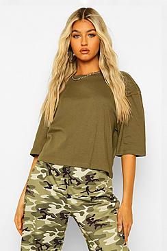 Tall Basic Crop T-Shirt