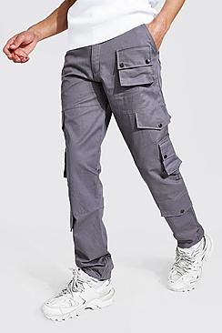 Tall Relaxed Fit Twill Cargo Trouser