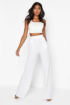 Tall High Waisted Trousers
