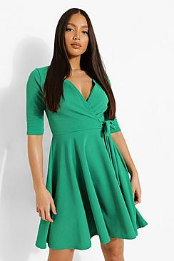 Tall  Wrap and Skater Dress